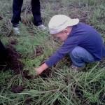 Voluntariado de todas las edades ayudan a mantener verde el Parque Nacional La Tigra.