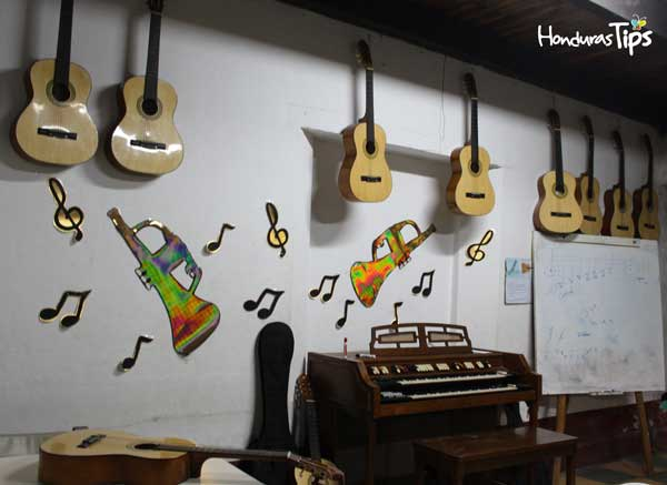 Un lugar donde la música será un deleite a sus oídos