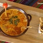 Pruebe la exquisita sopa de tortilla de Casa Ixchel, ¡le encantará! / Try their amazing Casa Ixchel tortilla soup, you will love it!