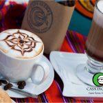 El café en Casa Ixchel incluye una amplia variedad de opciones así como sus métodos de preparación.