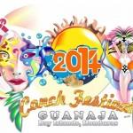 Guanaja en una imagen: su logo del VII Festival del Caracol