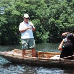La Laguna de Cacao también forma parte del Parque Nacional Nombre de Dios / Cacao Lagoon is also part of the Nombre de Dios National Park.