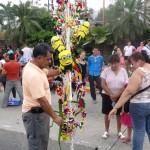 No faltaron las escenas típicas de celebraciones hondureñas.