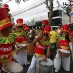 Los ritmos de las bandas hicieron bailar a más de uno y arrancaron los aplausos de los presentes.