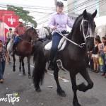 Los jinetes dieron un espectáculo digno de aplausos, montados en bellos ejemplares iberoamericanos y peruano.