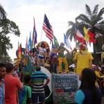 Los ritmos mundialistas y la promoción de empresas sobresalieron en el evento tradicional de la feria de San Pedro Sula.