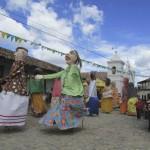 Gigantonas de Yuscarán hicieron vibrar al público durante festival