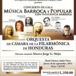 Concierto de Gala de música barroca y popular
