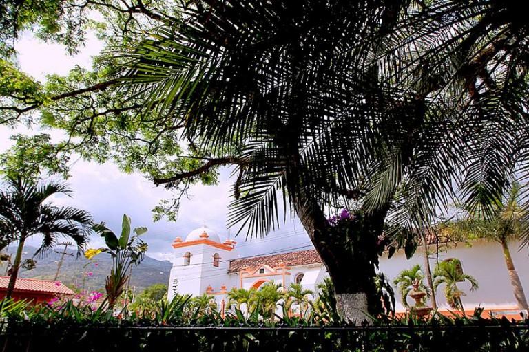 Parque central de Catacamas.