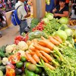 Mercado en Marcala.