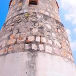 El Torreón es un símbolo arquitectónico de La Paz. Se localiza en la Casa de La Cultura.