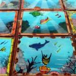 Pequeñas pero importantes obras hechas por los niños en la aldea El Porvernir, Atlántida.