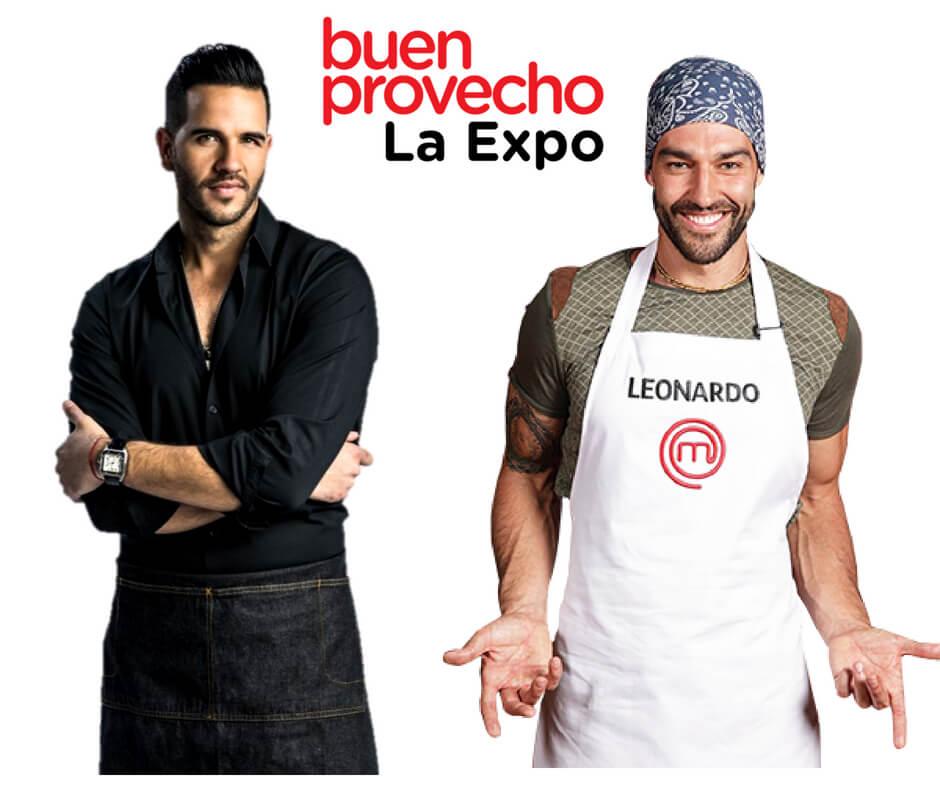 Chef Yisus. Chef Leo Moran