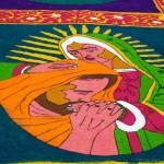 Alfombras de Semana Santa, un ícono de fe y tradición