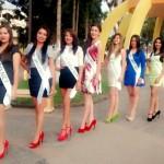 Las guapas candidatas a Nuestra Belleza Fenapin 2015.
