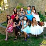 """Niñas aspirantes a """"Miss Princesa Fenapin 2015"""""""