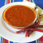 La salsa roja le dará a sus tacos ese picantito especial.