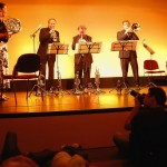 La banda Chestnut Brass Company de gira por Honduras