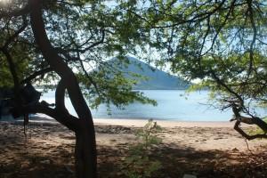 Isla Exposición se encuentra ubicado en el departamento de Valle, muy cerca de la Isla el Tigre en Amapala. Foto: Mapachines Camping Club.