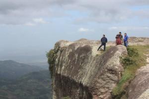 La Peña le regala una excelente vista de Choluteca y es un lugar propicio para la observación de astros. Foto: Mapachines Camping Club.
