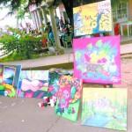 Exposiciones callejeras llenan de color a Catacamas
