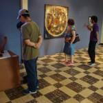 El Centro de Arte y Cultura CAC-UNAH ofrece un espacio para exposición de las colecciones artísticas universitarias y de las exhibiciones temporales.