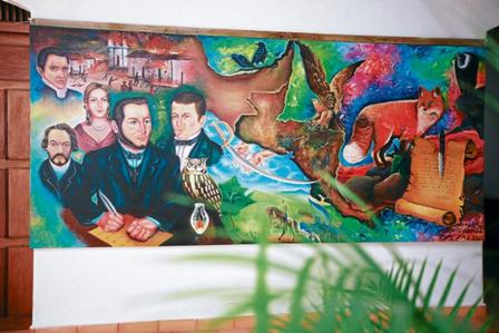 La Casa de Morazán la comprenden: El Museo, el Archivo, la Biblioteca, el Instituto Morazánico y la Fundación Morazánica. Fotografía www.sichonduras.hn.