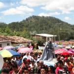 Muchos fieles participan en la procesión del Santo Patrón. Este año está programada para el domingo 04 de octubre a las 10:00 AM.