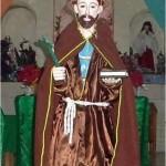 San Francisco de Asís, cuyo verdadero nombre fue Giovanni di Pietro Bernardone, nacido en Italia en el año 1182 y quien después se convirtiera en un líder religioso y fundador de la Orden Franciscana.
