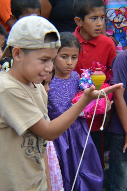 Los juegos tradicionales forma parte de la riqueza cultural de Belén y otros pueblos de Honduras.