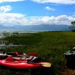 Hondureños dan la vuelta al Lago de Yojoa en 29 horas