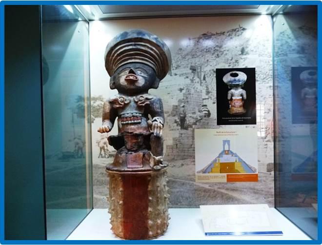 Algunas piezas mayas se exhiben en el Museo digital de Copán.