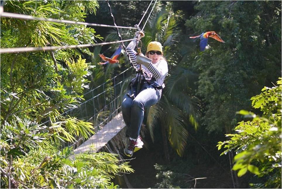 7 lugares para disfrutar de la aventura del canopy en Roatán - Honduras Tips & 7 lugares para disfrutar de la aventura del canopy en Roatán ...