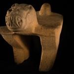 Uno de los objetos más notables durante las expediciones de febrero 2015 fue la cabeza de un hombre-jaguar.