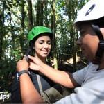 Los instructores del canopy La Tigra brindan una charla sobre medidas de seguridad para disfrutar aún más la experiencia.