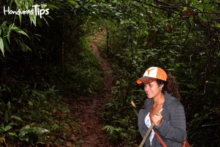 Muchos prefieren realizar senderismo para llegar a la no tan conocida cueva El Naranjo.