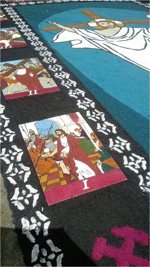 Estas obras de arte cubren las calles de Comayagua.