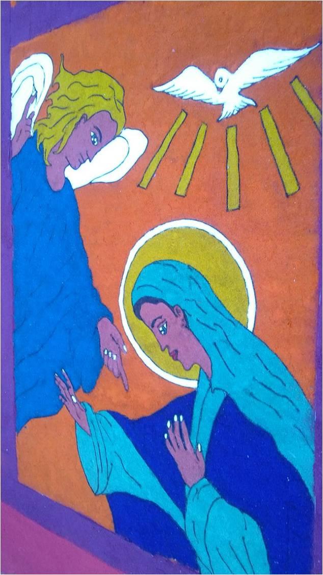Alfombras de Comayagua Semana Santa
