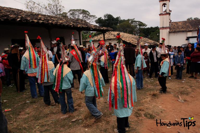 El Guancasco es una tradición con baile de los pueblos lencas.