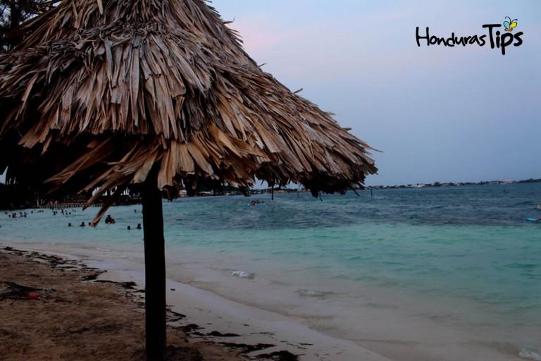 Playas Chepes en Utila.
