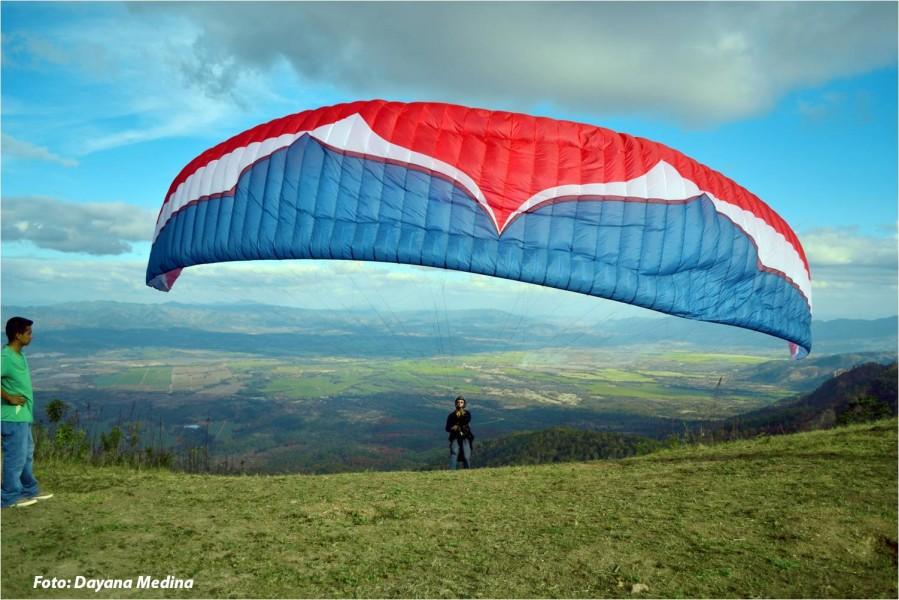 El Guayabo, Francisco Morazán, es un nuevo sitio de vuelo con acceso desde Valle de Angeles.