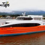 Desde Puerto Cortés hasta Utila en Ferry