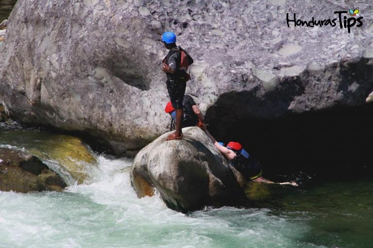 Uno de los ríos más caudalosos de Honduras, y perfecto para hacer deporte extremo.