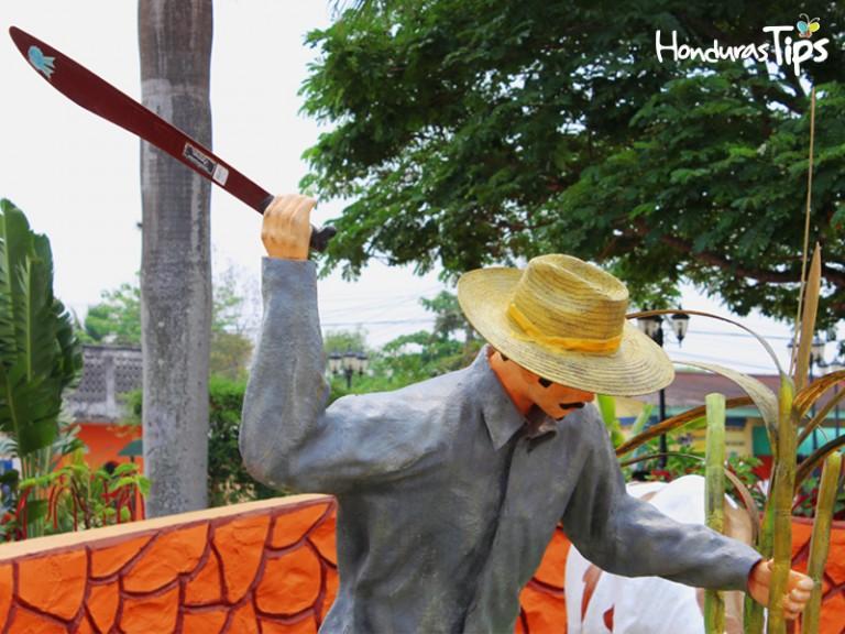 El parque es temático y recoge la esencia de las principales actividades de trabajo de los San Marqueños.