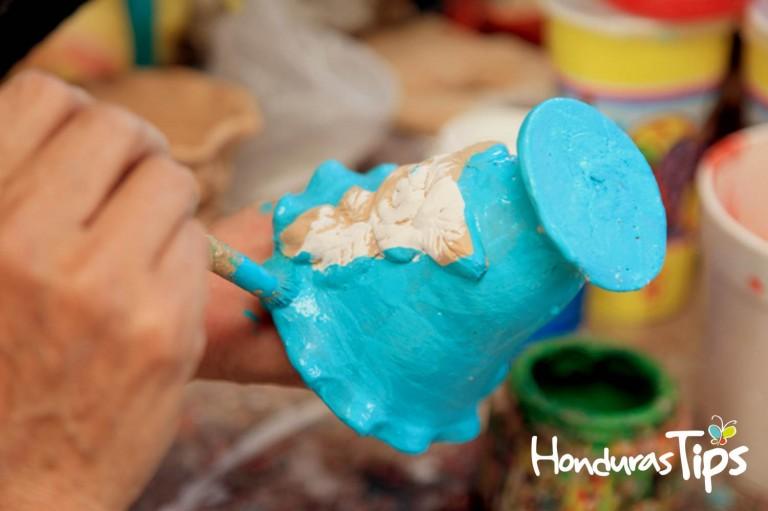 Las artesanías son de los mejores atractivos de Ojojona.