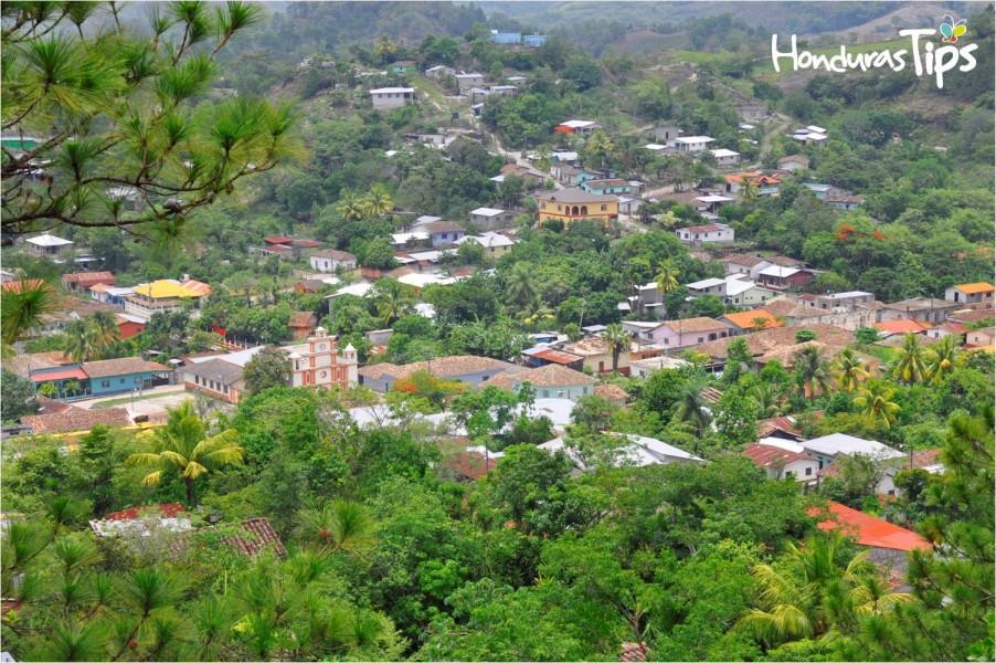 Una de los atractivos que posee San Nicolás, Copán son sus panorámicas.