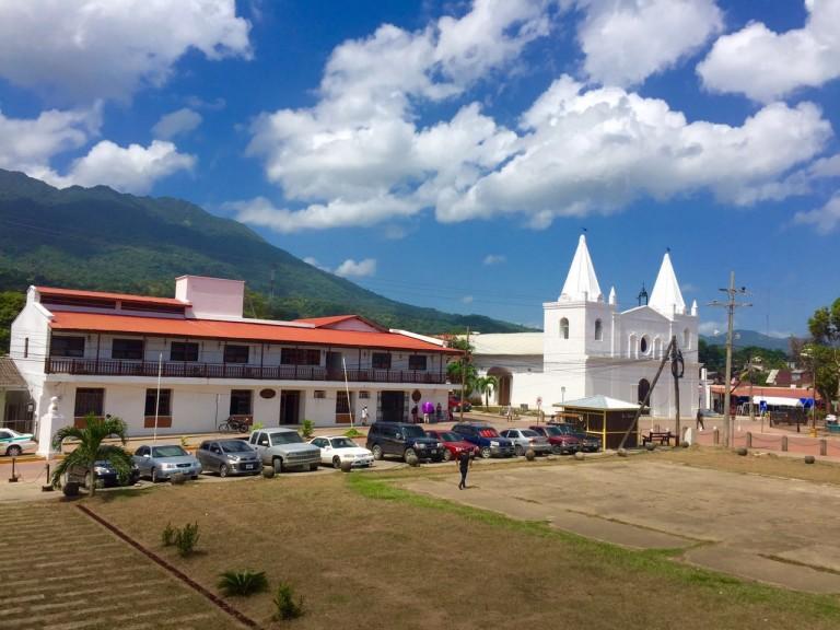 El casco histórico de Trujillo se ve hermoso. (Foto cortesía de Gibran Lozano).