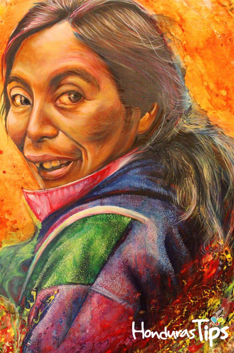 La Esperanza e Intibucá ha despertado en los últimos cinco años, la creatividad de muchos lugareños que ahora pintan obras de arte inspirados en los lencas y además crean diseños a base de mosaicos.