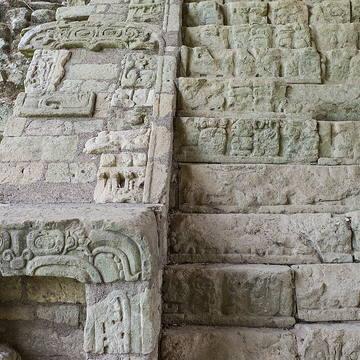 Copán Ruinas cuenta con la más exacta tabla jeroglífica de la civilización Maya.