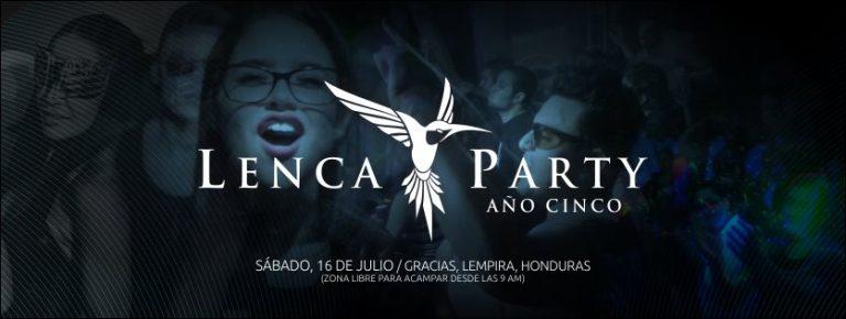 Lenca party Gracias